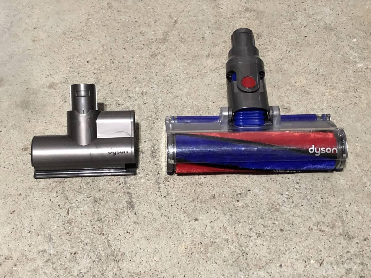 025 「アダプター有り」 dyson/ダイソン V6 DC74 コードレス掃除機 サイクロン ソフトローラーブラシ_画像5