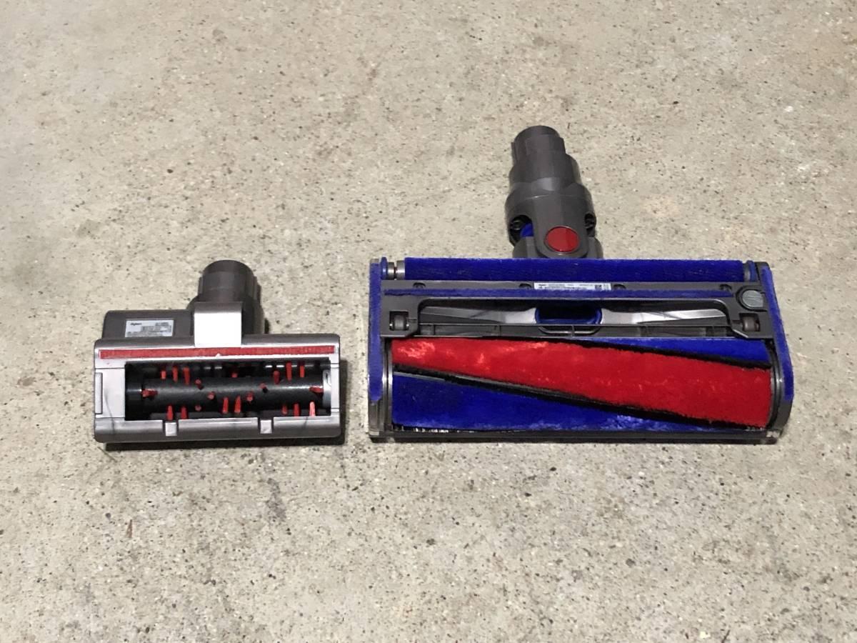 025 「アダプター有り」 dyson/ダイソン V6 DC74 コードレス掃除機 サイクロン ソフトローラーブラシ_画像6