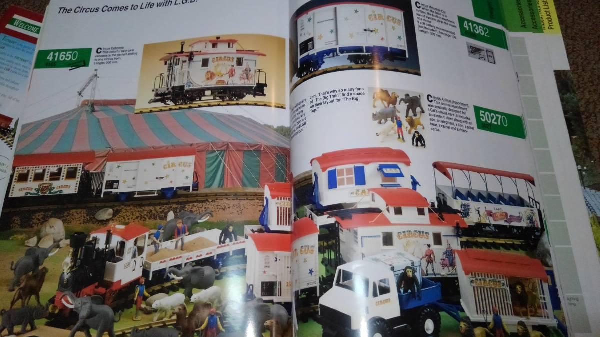 LGB 94/95カタログ本と 2000 、2001カタログ Gゲージ?_画像9