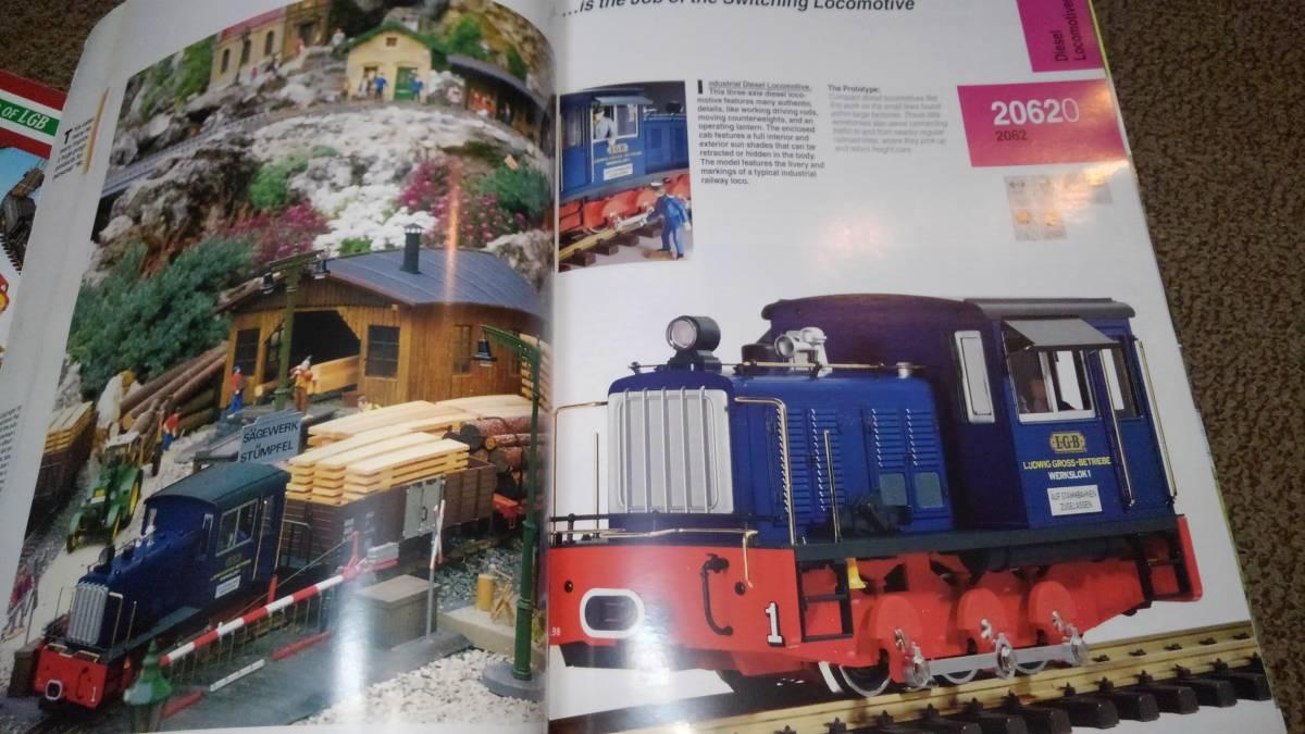 LGB 94/95カタログ本と 2000 、2001カタログ Gゲージ?_画像8