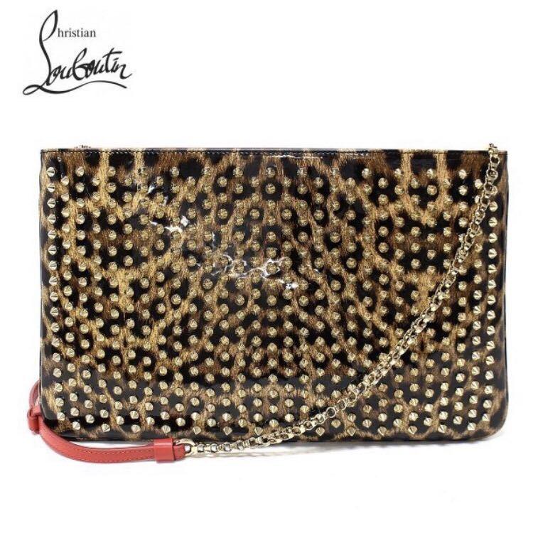 ultimate beautiful goods Louboutin Christian Louboutin clutch bag shoulder bag