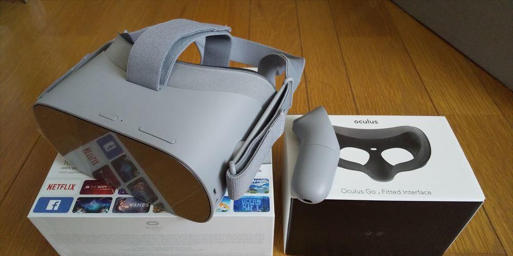 ★スタンドアローンVRヘッドセット★Oculus Go 32GB+接顔パーツ(フィット)★中古美品★