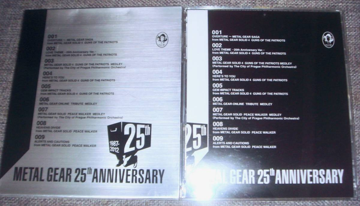 ◆【METAL GEAR 25th ANNIVERSARY METAL GEAR MUSIC COLLECTION】メタルギアソリッド/METAL GEAR SOLID /サントラ/ベスト/CD_画像3