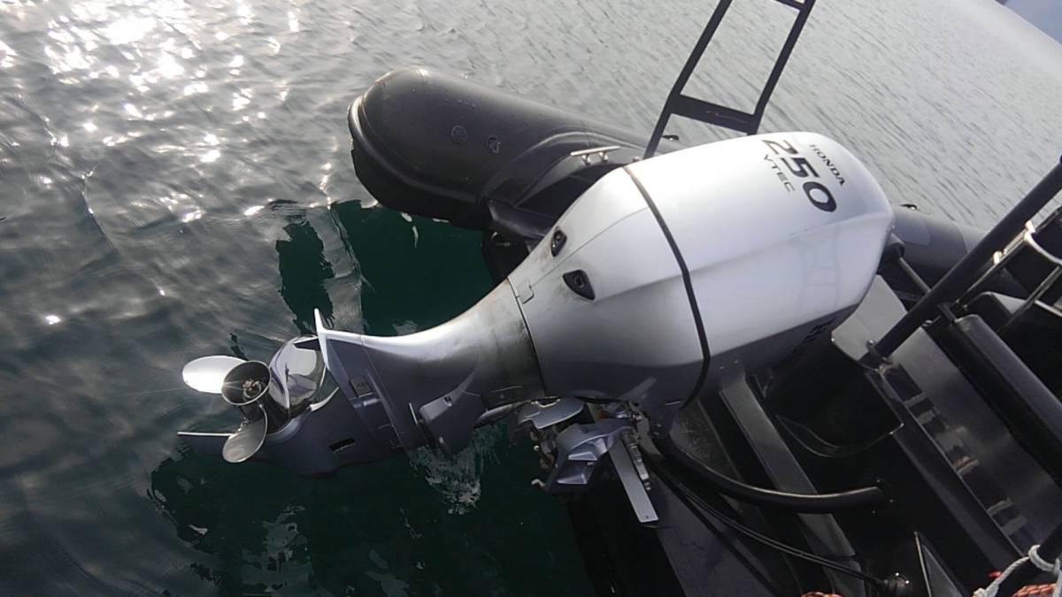 値下げ! 銀行振り込みでお願いします。HONDA BF250 UL 淡水でのみ使用の極上品 2018モデル 使用時間少