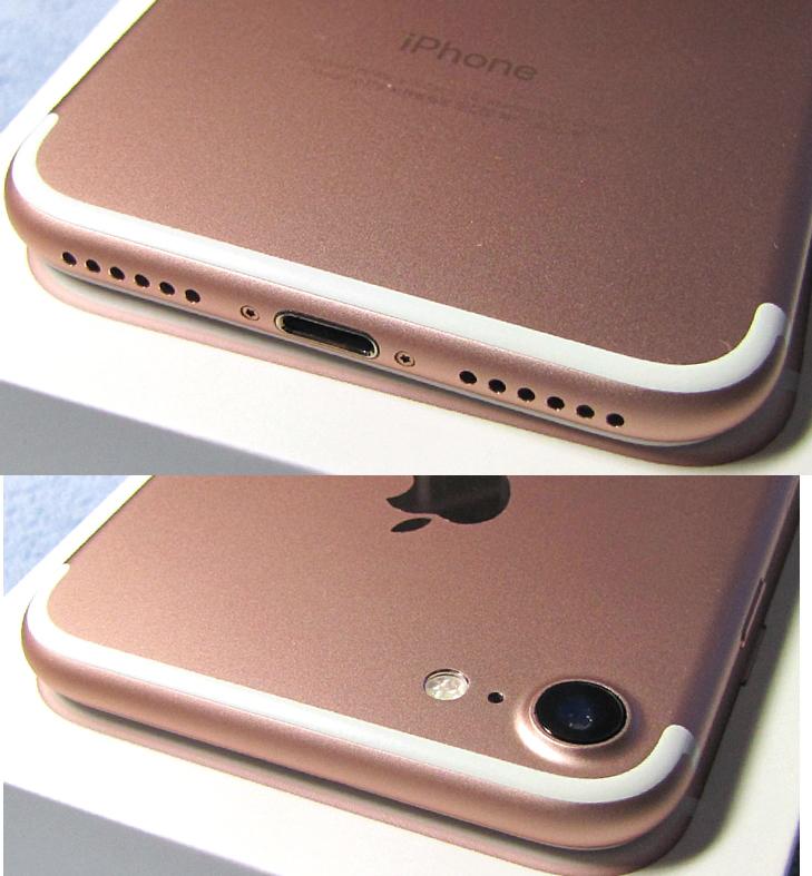 傷なし 新品同様美品 SIMフリー 化済 Apple iPhone7 128GB ローズゴールド docomo版 SIMロック解除済 格安SIM OK iphone 7 スピード発送_画像5