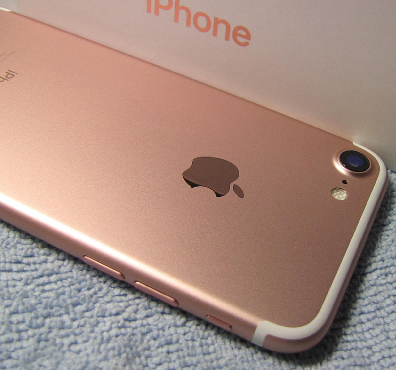 傷なし 新品同様美品 SIMフリー 化済 Apple iPhone7 128GB ローズゴールド docomo版 SIMロック解除済 格安SIM OK iphone 7 スピード発送_画像7