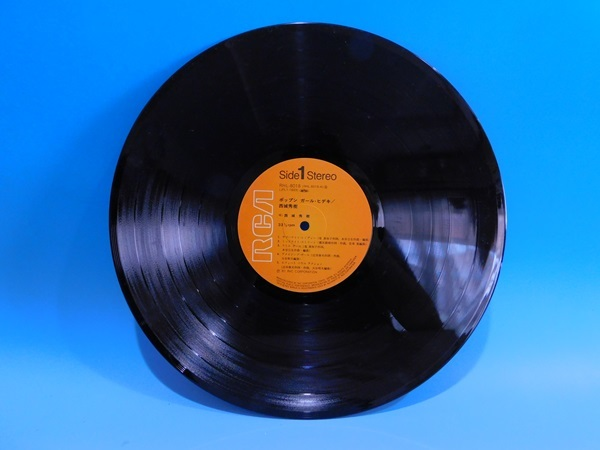 【LP】西城秀樹/ポップンガール・ヒデキ1981年・ブギー・BOOGIE・アーバンファンク・FUNK /帯・歌詞カード付_画像2