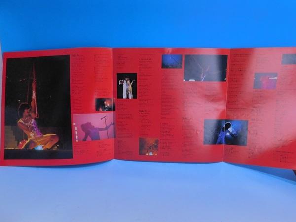 【2LP】西城秀樹/BIG GAME'80 ビッグゲーム'80/帯・歌詞カード、ポスター付_画像4