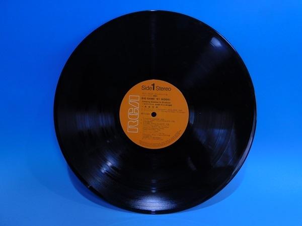 【LP】西城秀樹/BIG GAME ビッグ・ゲーム・ヒデキ'81/帯・歌詞カード付_画像2