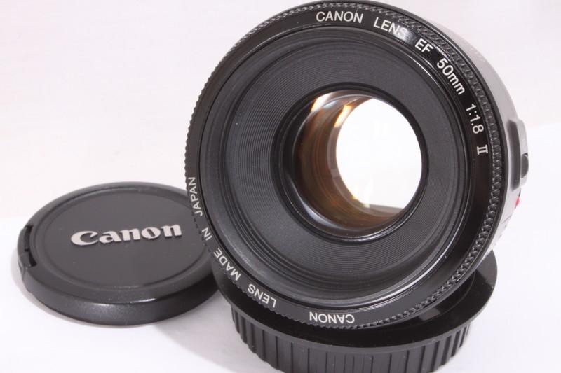 CANON LENS EF 50mm F1.8 Ⅱ [2000325E]