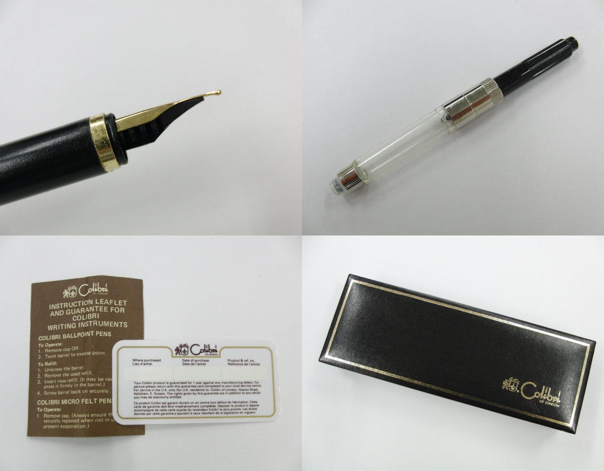 Colibri コリブリ ゴールドカラー 万年筆 筆記用具 _画像9