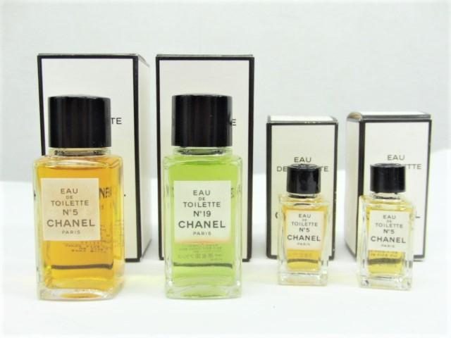 香水★シャネル CHANEL No.5 No.19 オードトワレ EDT 19ml2本+4.5ml2本 計4点セット まとめて