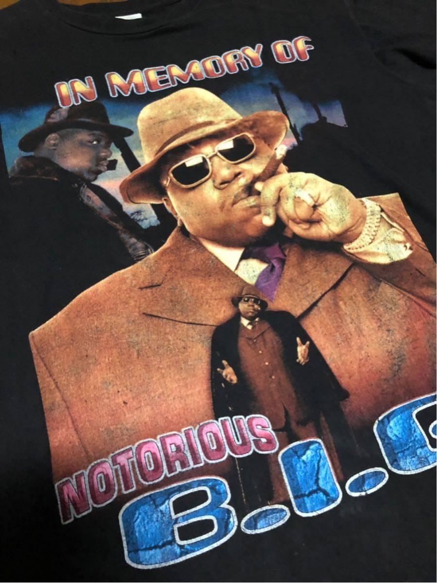 RAP TEE 90s HIPHOP ビンテージ Notorious BIG B.I.G ノトーリアス ビギー Tシャツ ヴィンテージ XXL _画像5