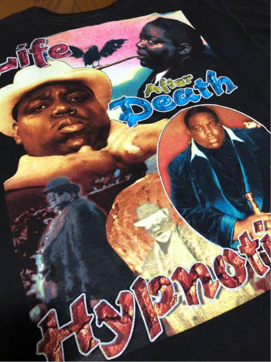 RAP TEE 90s HIPHOP ビンテージ Notorious BIG B.I.G ノトーリアス ビギー Tシャツ ヴィンテージ XXL _画像6
