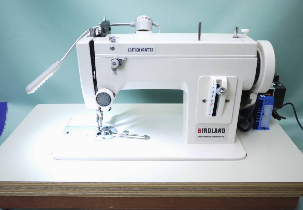 レザークラフターLC-PS ポータブル工業用ミシン 革/厚物縫い 直線モデル 超スロー縫い可能 _画像3