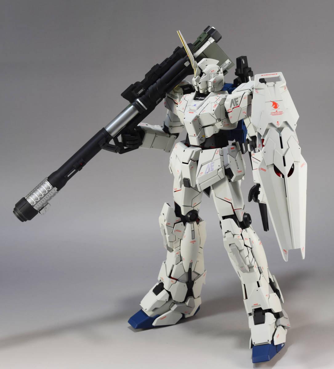 MG 1/100『 ユニコーン ガンダム (Ver.Ka)』完成品 機動戦士 ガンダム UC バナージ アナハイム_画像3