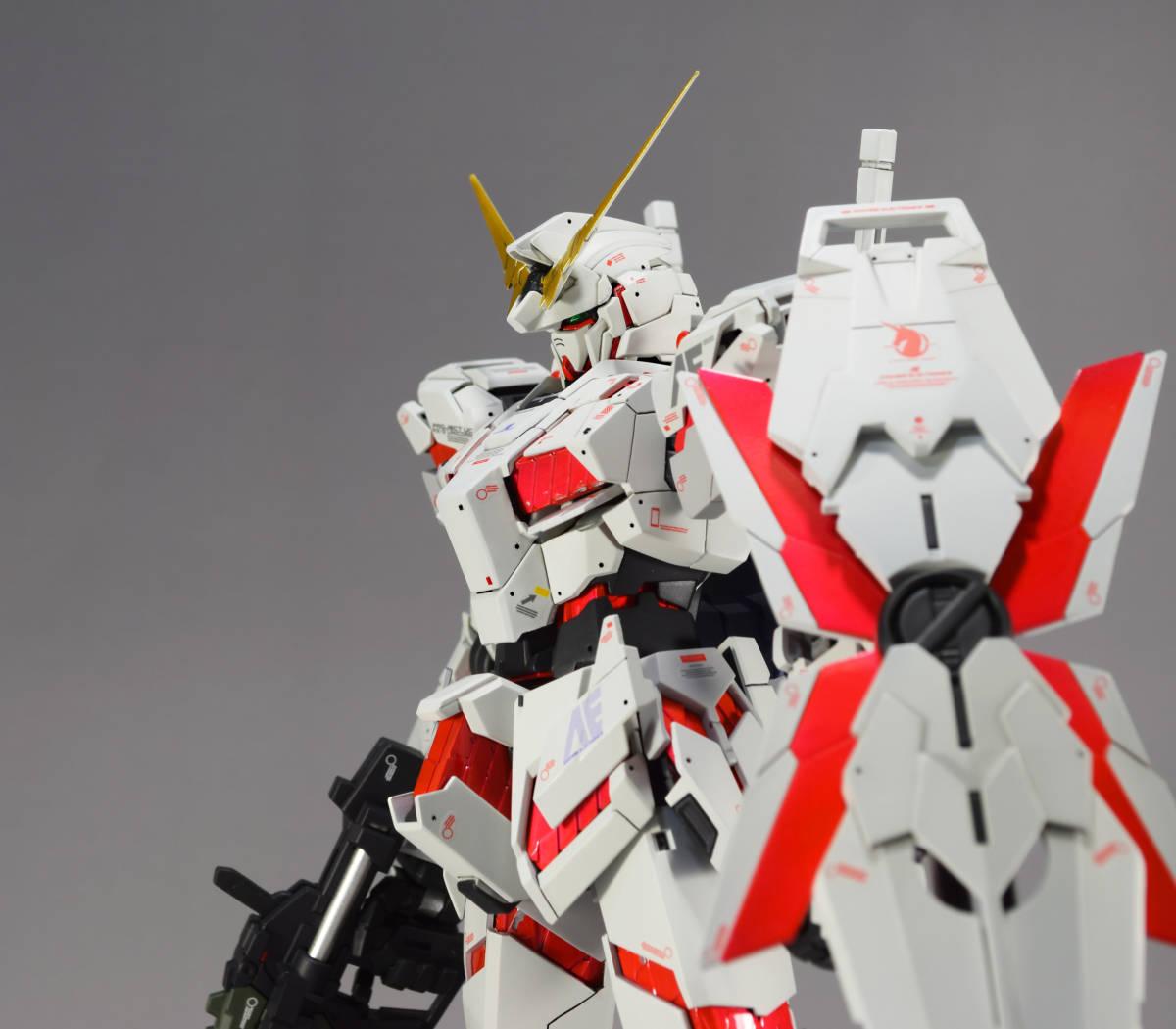 MG 1/100『 ユニコーン ガンダム (Ver.Ka)』完成品 機動戦士 ガンダム UC バナージ アナハイム_画像5