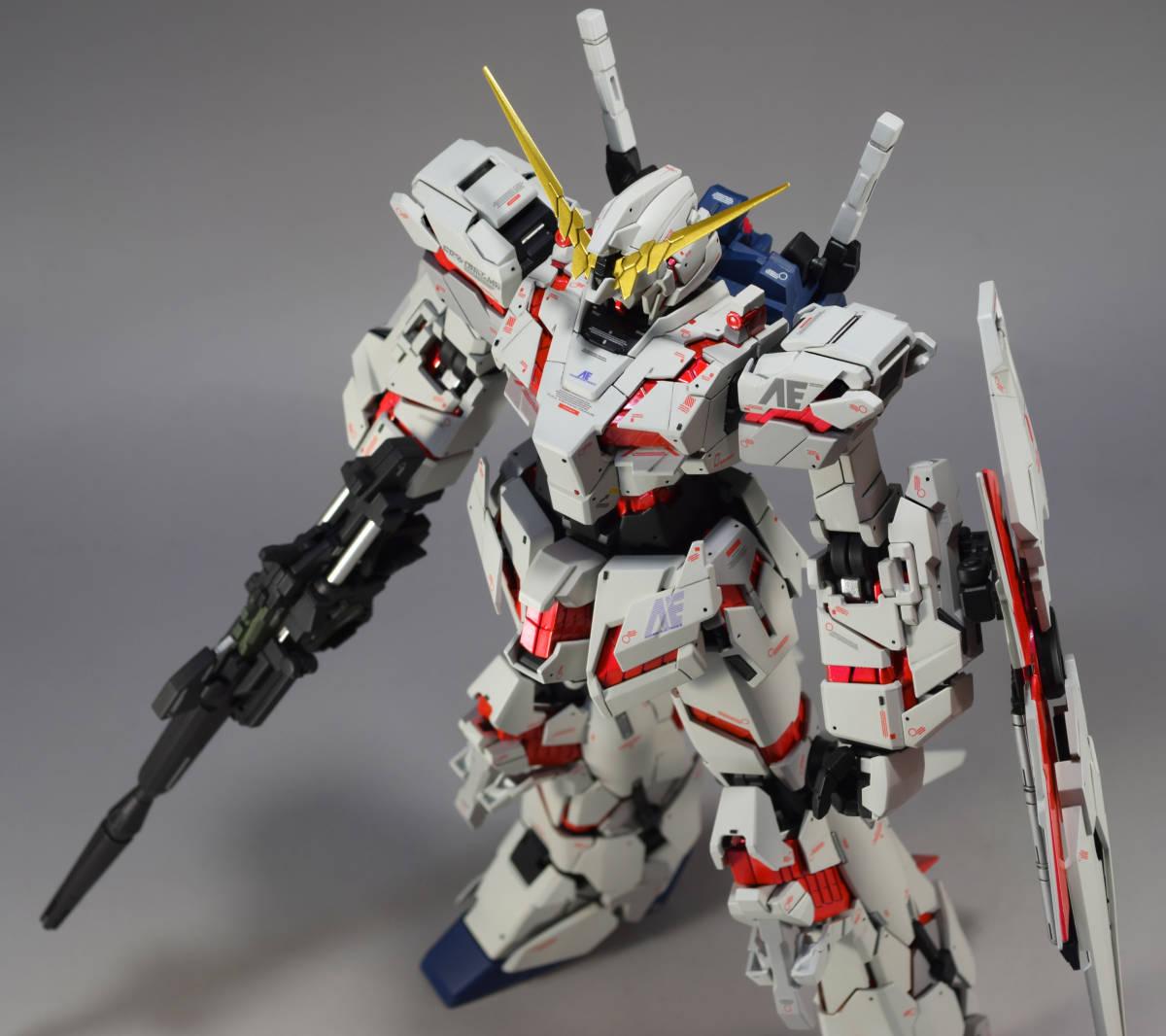 MG 1/100『 ユニコーン ガンダム (Ver.Ka)』完成品 機動戦士 ガンダム UC バナージ アナハイム_画像9