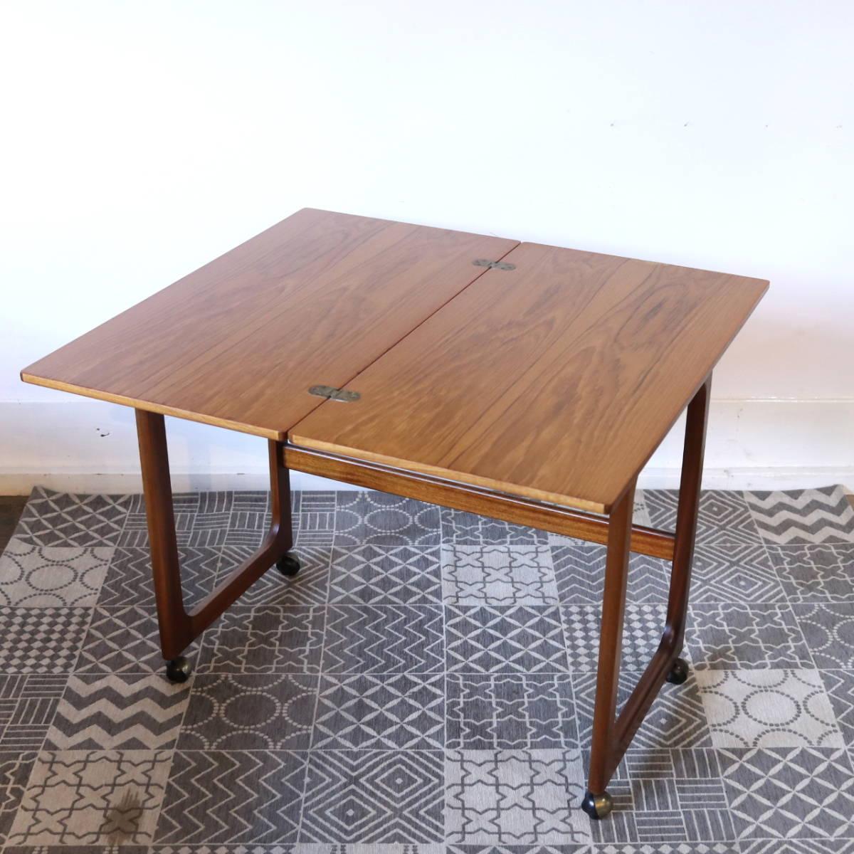 【天板剥離・再塗装メンテ済】イギリス McINTOSH社製 ビンテージ ネストテーブル/ERCOL G-PLAN アンティーク コーヒーテーブル 北欧_画像9