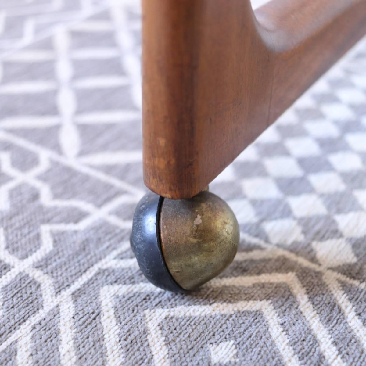 【天板剥離・再塗装メンテ済】イギリス McINTOSH社製 ビンテージ ネストテーブル/ERCOL G-PLAN アンティーク コーヒーテーブル 北欧_画像10