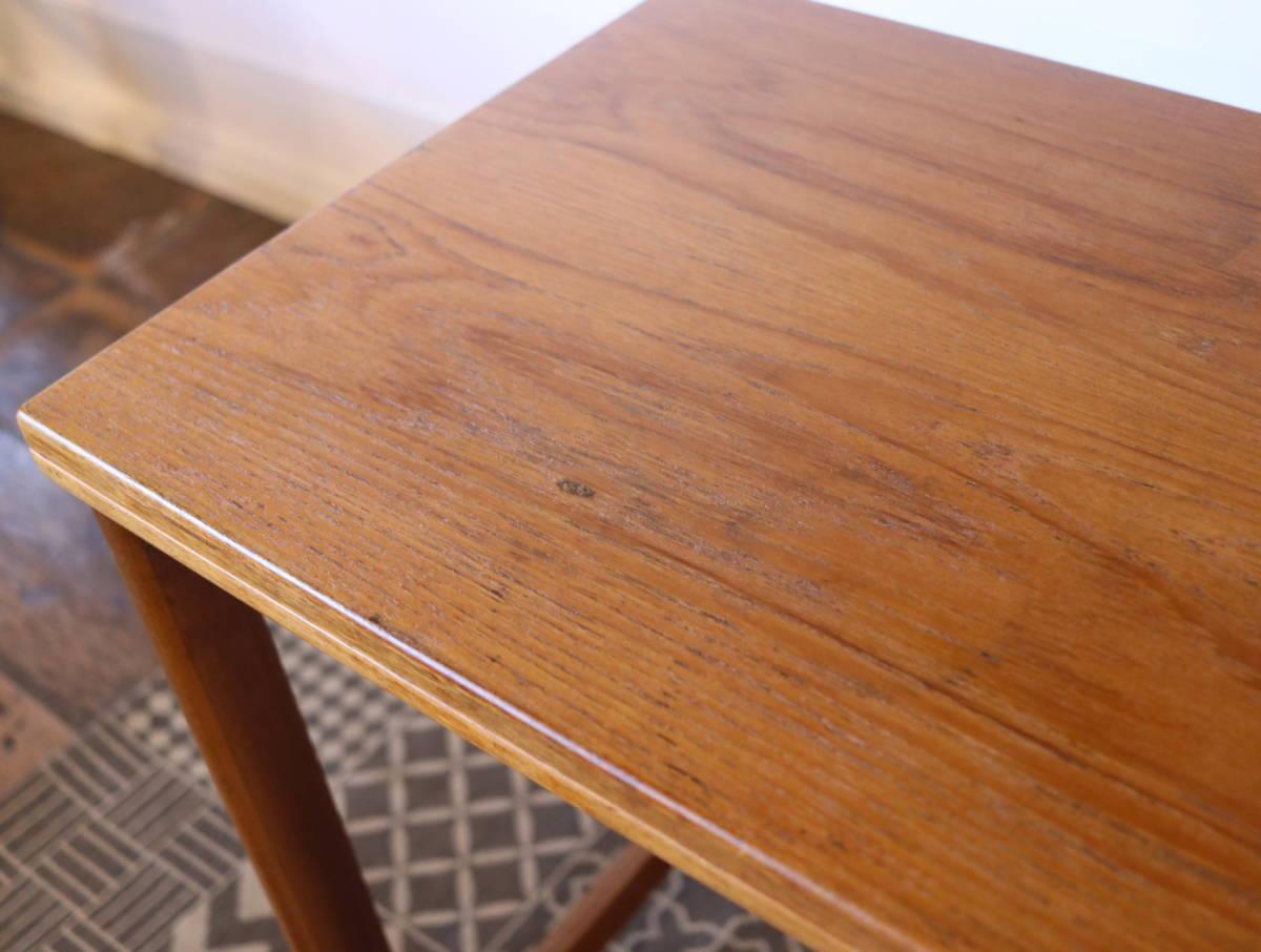 【天板剥離・再塗装メンテ済】イギリス McINTOSH社製 ビンテージ ネストテーブル/ERCOL G-PLAN アンティーク コーヒーテーブル 北欧_画像6