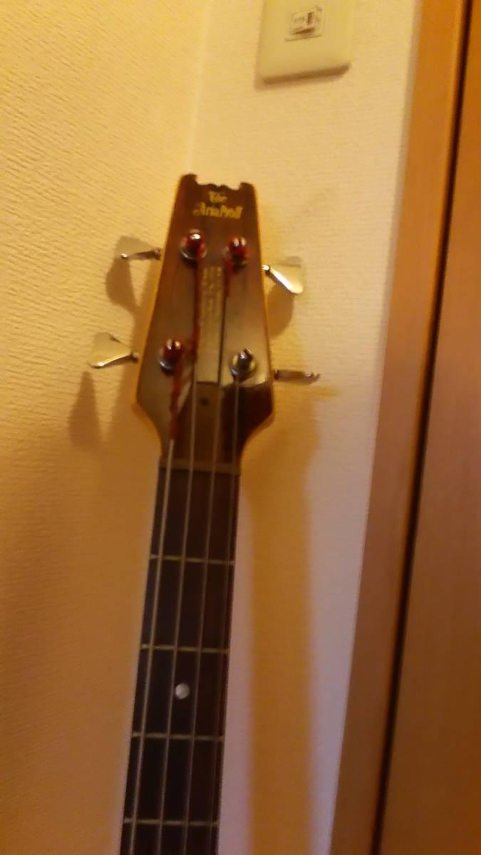 レア!中古 アリア プロ2 Aria Pro2 RSB-900 綺麗なウォルナット色!_画像9