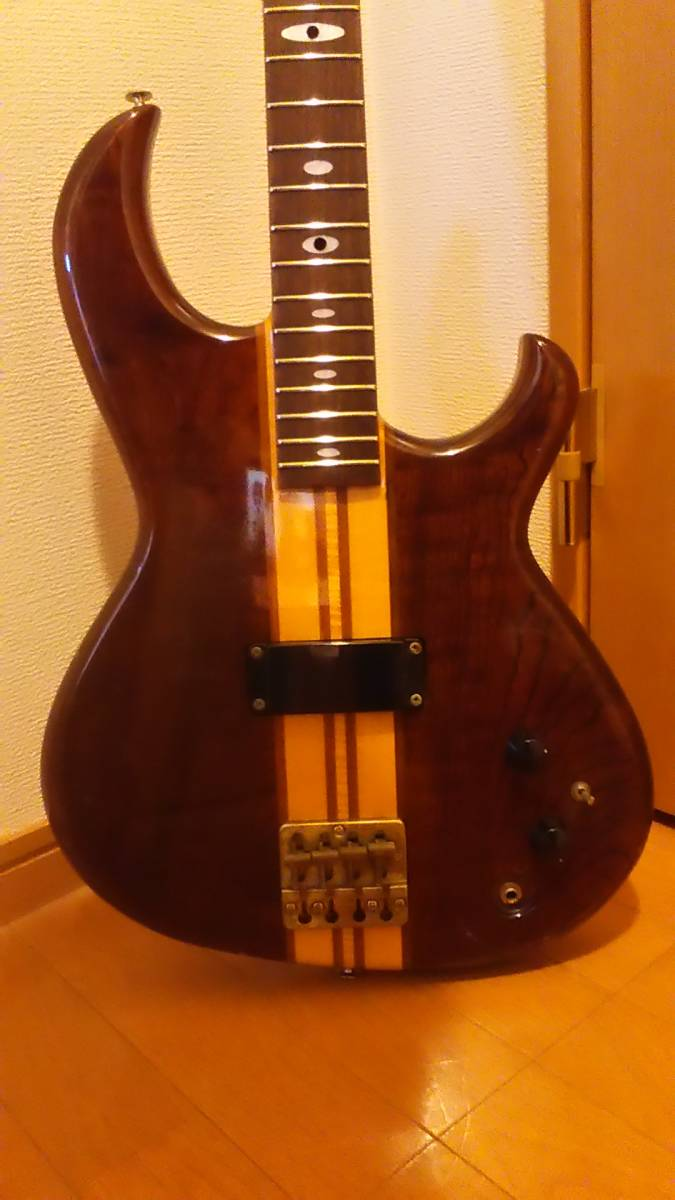 レア!中古 アリア プロ2 Aria Pro2 RSB-600 綺麗なウォルナット色!_画像6