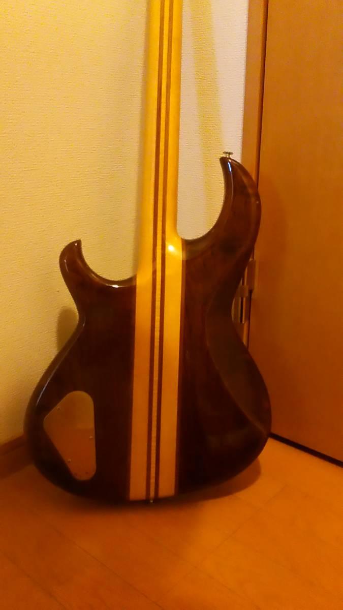 レア!中古 アリア プロ2 Aria Pro2 RSB-600 綺麗なウォルナット色!_画像7
