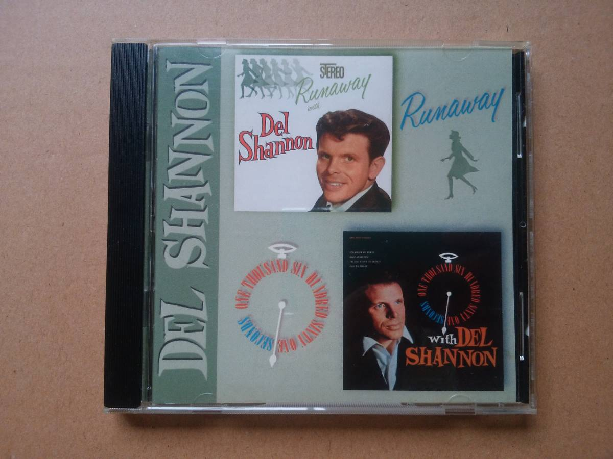 DEL SHANNON デル・シャノン「Runaway」「One Thousand Six Hundred Sixty One (1661) Seconds」2in1 [CD] 1997年 輸入盤 TARCD-1022_画像1