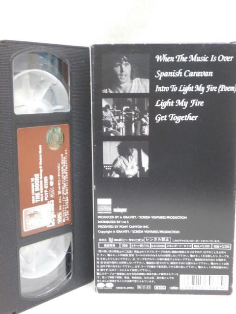 ★ドアーズ VHSビデオ 3本まとめてセット! おまけ付き★THE DOORS, JIM MORRISON_画像5