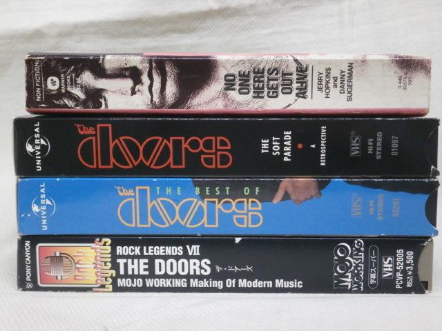 ★ドアーズ VHSビデオ 3本まとめてセット! おまけ付き★THE DOORS, JIM MORRISON_画像8