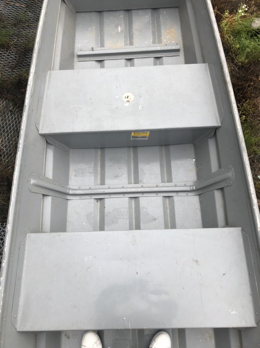 [引取限定]シーアーク★免許不要艇 ジョンボート 10フィート アルミボート 愛知県長久手市より_画像7