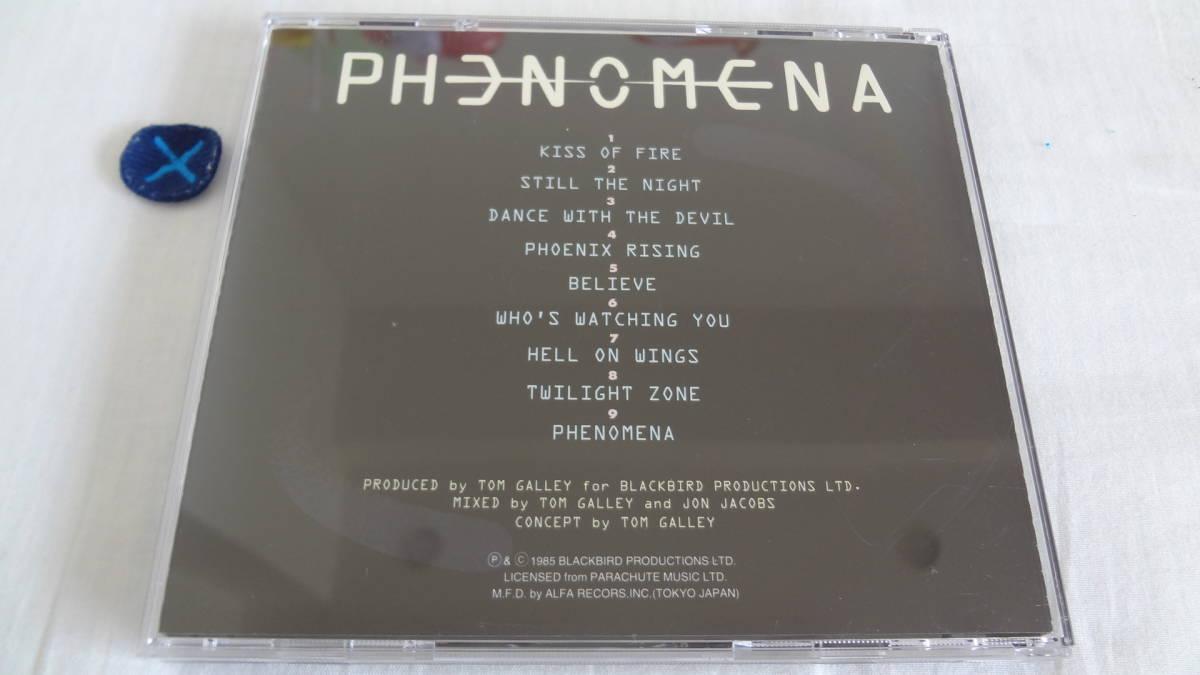 送料無料 国内盤  PHENOMENA/S.T  フェノメナ グレン・ヒューズ メロハー名盤_画像3