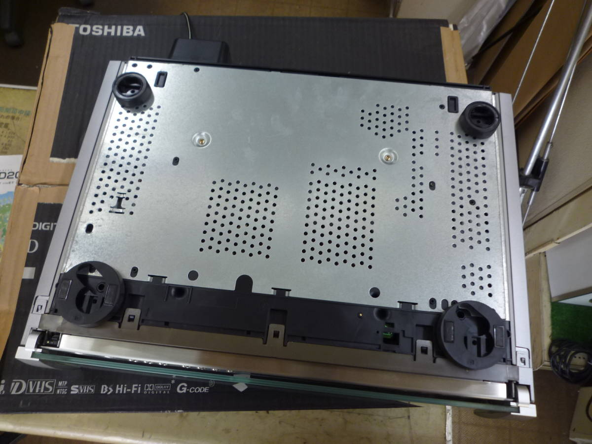 TOSHIBA 東芝 A-HD2000 D-VHSビデオデッキ ジャンク品_画像5