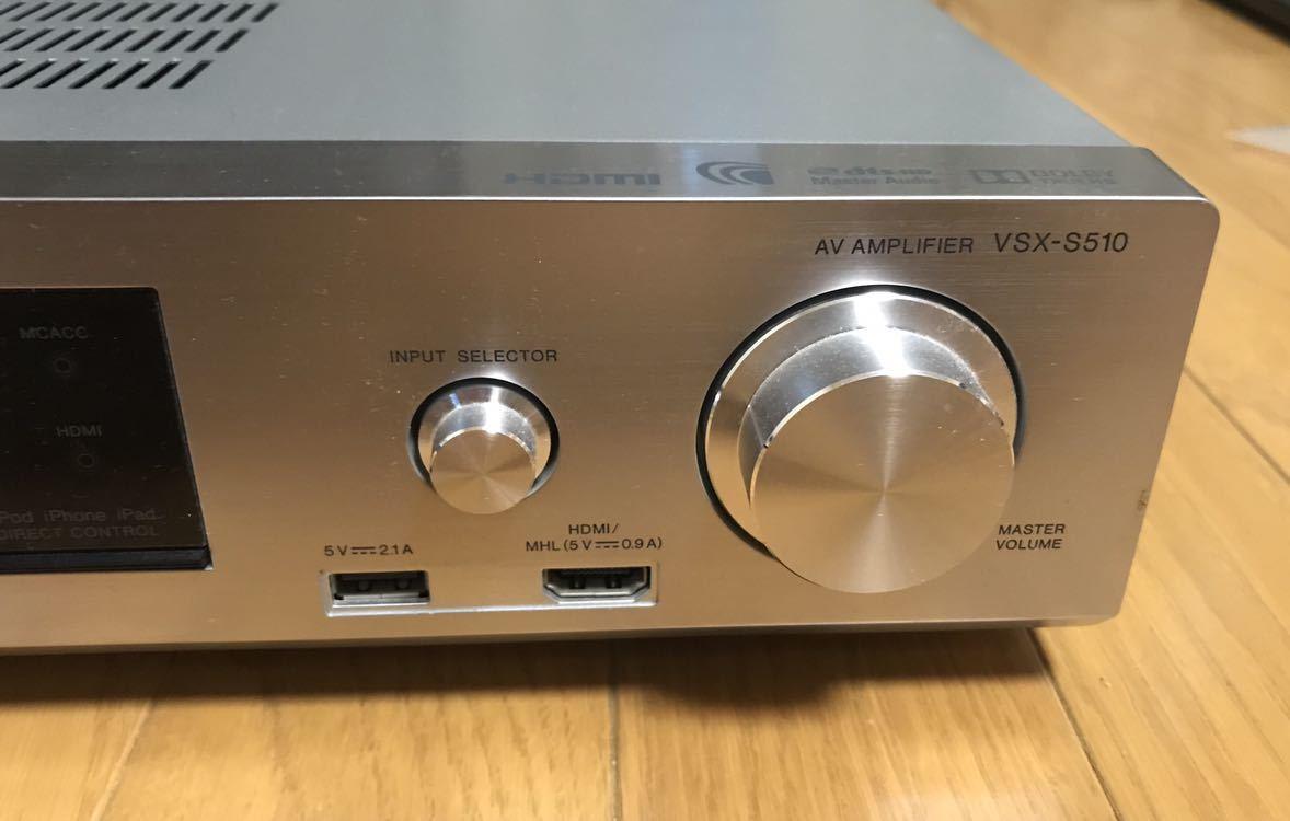 Pioneer AVアンプ VSK-S510 オーディオ機器_画像3