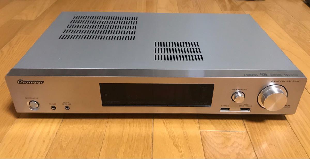 Pioneer AVアンプ VSK-S510 オーディオ機器
