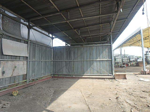 061401外装屋根万能鋼板安全塀土台重量鉄骨付き倉庫骨組大型ガレージ車庫直_画像3