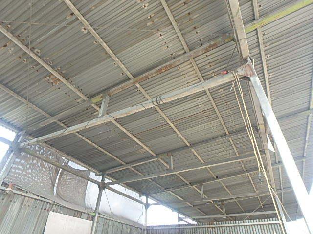 061401外装屋根万能鋼板安全塀土台重量鉄骨付き倉庫骨組大型ガレージ車庫直_画像4