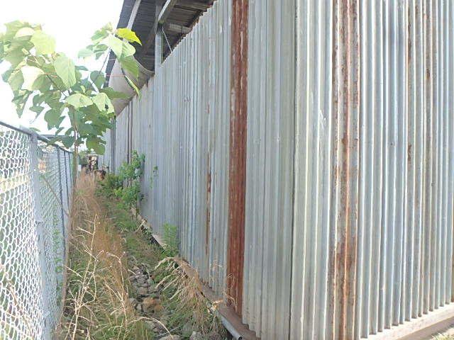 061401外装屋根万能鋼板安全塀土台重量鉄骨付き倉庫骨組大型ガレージ車庫直_画像5