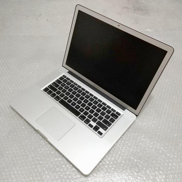 美品★ MacBook Pro 15 CTO Core i7-4コア 新品SSD:250GB メモリ:8GB 高解像度液晶 新品バッテリー Office 2016_画像6