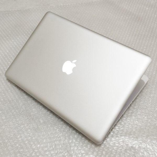 美品★ MacBook Pro 15 CTO Core i7-4コア 新品SSD:250GB メモリ:8GB 高解像度液晶 新品バッテリー Office 2016_画像7