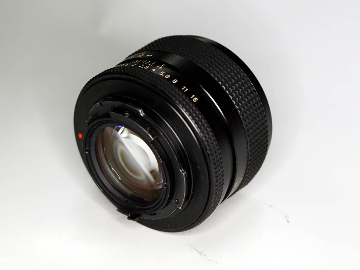 CONTAX Planar 50mm F1.4 AE 初期型 582万番 中古_画像3