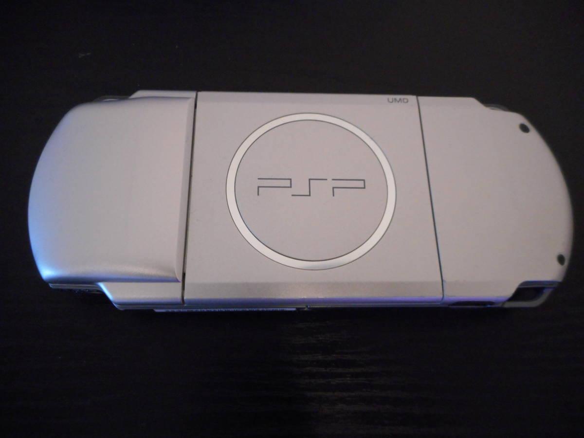 ★【送料無料】PSP-3000本体 箱 取扱説明書 メモリーカード ソフト2本 中古美品 即プレイ可能_画像5