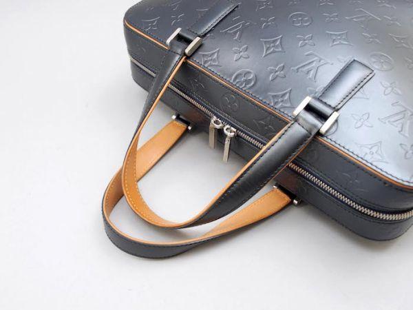 【新品同様 ほぼ未使用】ルイヴィトン Louis Vuitton モノグラムマット マルデン ビジネスバッグ ブリーフケース メンズ レザー 定価約17万_画像5