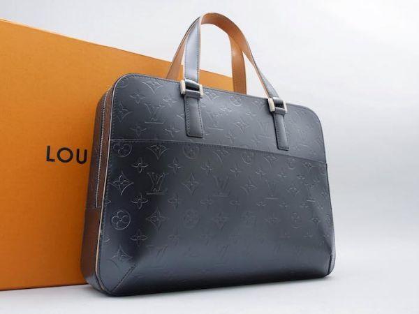 【新品同様 ほぼ未使用】ルイヴィトン Louis Vuitton モノグラムマット マルデン ビジネスバッグ ブリーフケース メンズ レザー 定価約17万_画像2