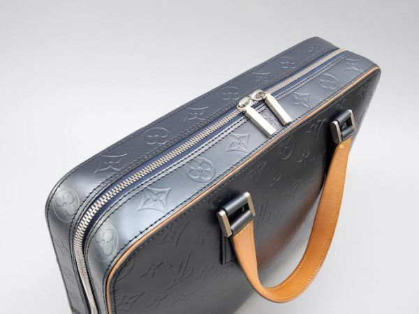 【新品同様 ほぼ未使用】ルイヴィトン Louis Vuitton モノグラムマット マルデン ビジネスバッグ ブリーフケース メンズ レザー 定価約17万_画像3