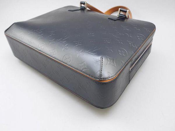 【新品同様 ほぼ未使用】ルイヴィトン Louis Vuitton モノグラムマット マルデン ビジネスバッグ ブリーフケース メンズ レザー 定価約17万_画像7