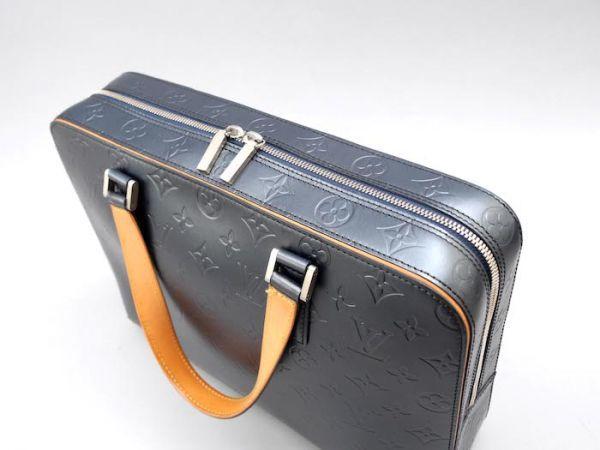 【新品同様 ほぼ未使用】ルイヴィトン Louis Vuitton モノグラムマット マルデン ビジネスバッグ ブリーフケース メンズ レザー 定価約17万_画像4