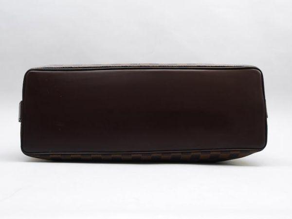 ■【極美品】ルイヴィトン Louis Vuitton ダミエ チェルシー ショルダーバッグ エベヌ レザー かばん 鞄 定価約16万円_画像5