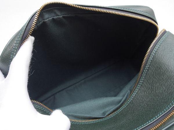 ■【ほぼ未使用】ルイヴィトン Louis Vuitton タイガ リポーターPM 斜め掛け ショルダーバッグ メンズ エピセア 鞄 かばん 定価約15万_画像9